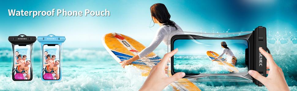 Unicersal Waterproof Phone Pouch cellphone case Dry Bag