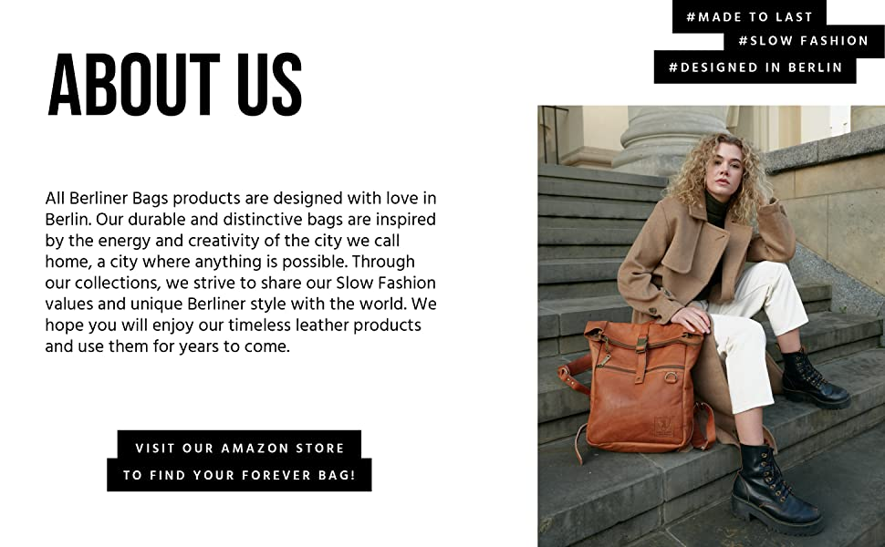 About us: Slow fashion, mad to last, designed in Berlin