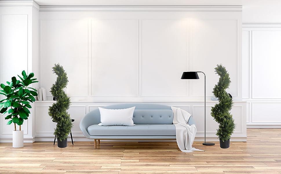 Artificial Cedar Cypress Trees/ Artificial Cypress Topiary Trees