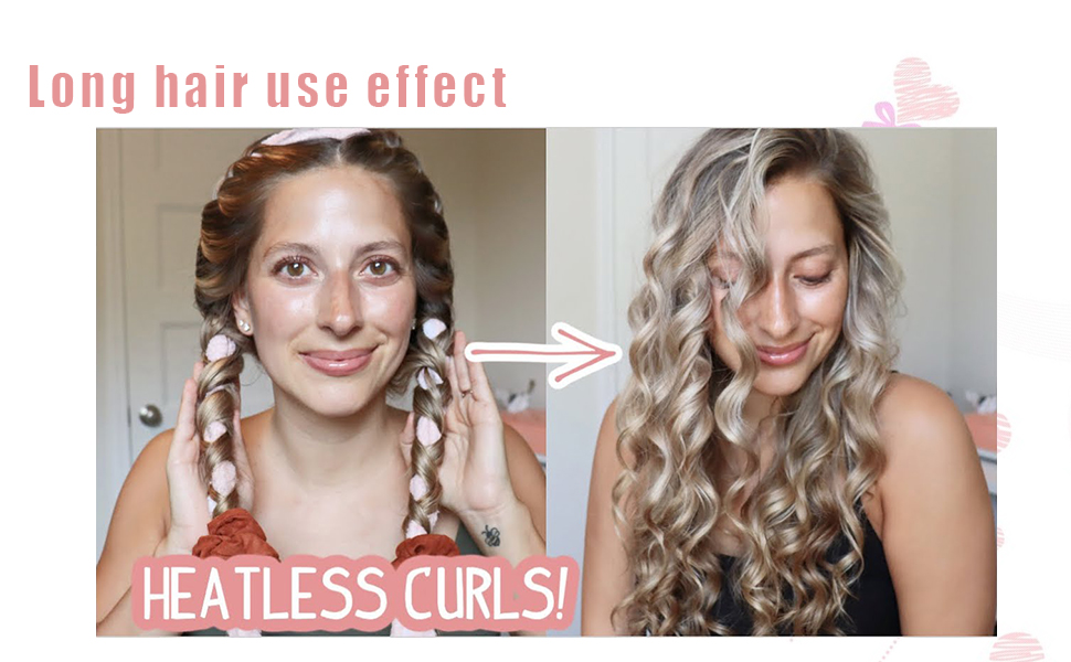 long hair use effect