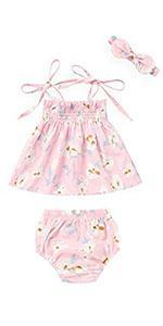 Baby Girl Tank Top Shorts