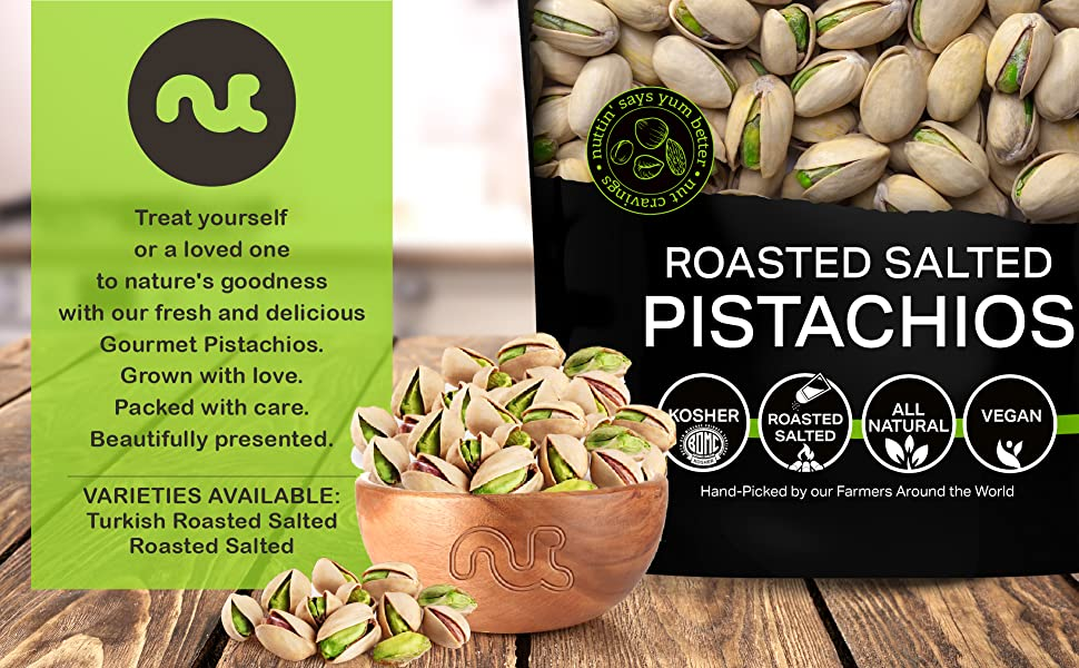 Treat yourself with this bowl of pistachios
