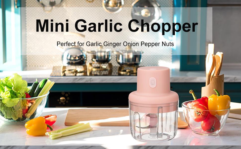 Automatic vegetable garlic onion chopper