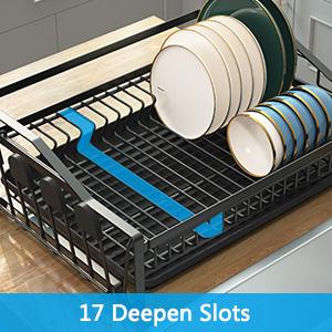 Portable Dinnerware Organizer for Kitchen amp; Camper