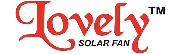 Lovely Solar Fan Logo