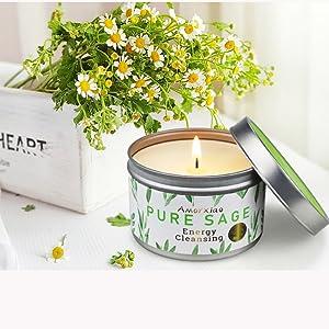 Sage Candle