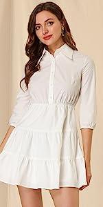 B09BZ5V31KTiered Dress