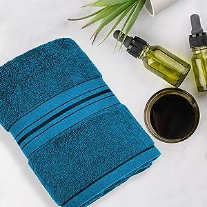 luxury bath towel for spa