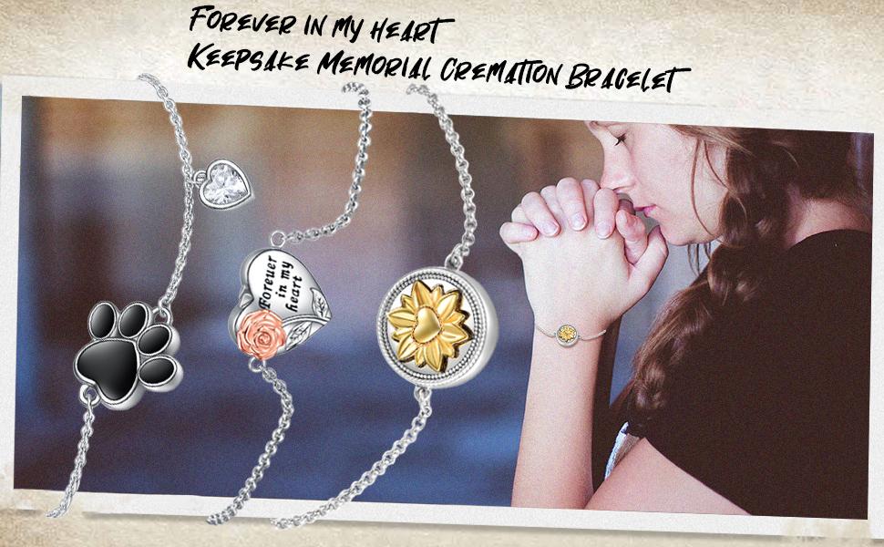 urn bracelet for women