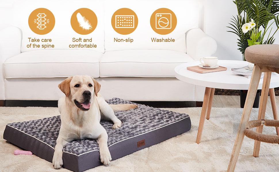 large dog bed, orthopedic dog beds for large dogs