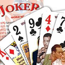 Regulation poker deck