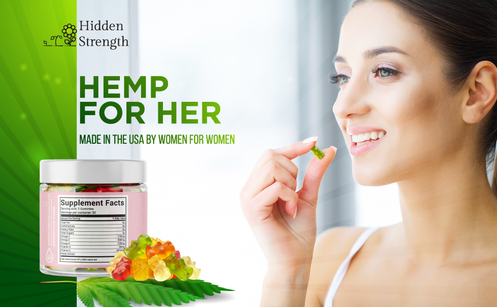 Hemp For Her Made In US By Women For Women