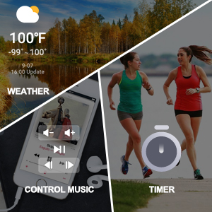 Control Music & Weather & Timer