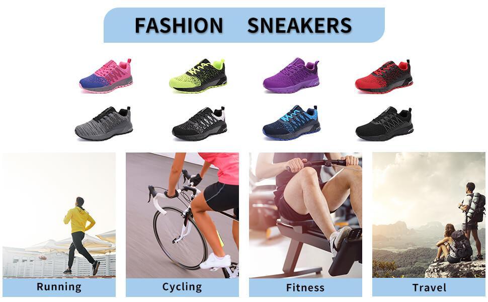 ubfen men and women walking shoes