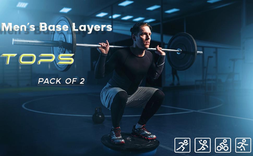 mens base layers tops