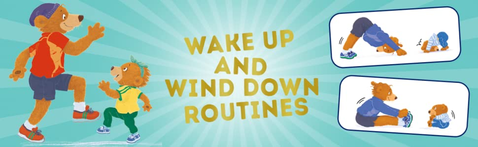 Wake Up and Wind Down Routines with The Burpee Bears