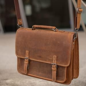 leather laptop bag brown bags work bag laptop bags for men messenger bag