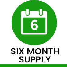 Six Month Supply