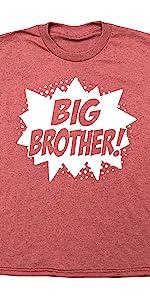 Happy Family Clothing Superhero Big Brother T-Shirt