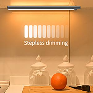 Stepless dimming
