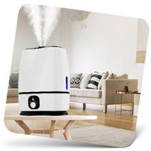 Large room humidifier works on rooms up to 500 square feet