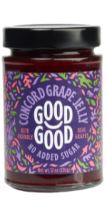 keto diabetes no added sugar natural concord grape jam jelly