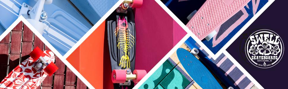 Swell skateboards Banner 2