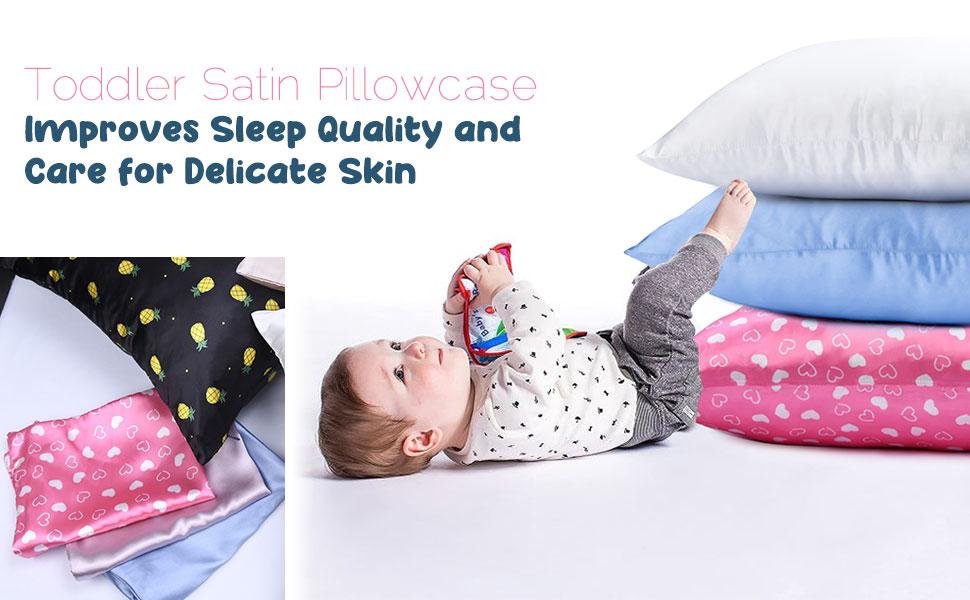 toddler satin pillowcase