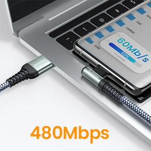 Fast Charging & Data-Sync 2 in 1 Cable