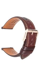 Calfskin Leather Strap