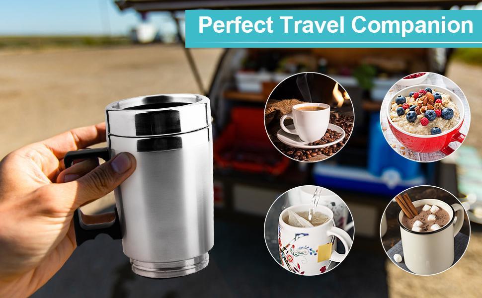 Car Heating Travel Mug