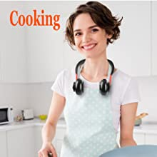 personal neck fans-cooking