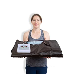 portable sauna blanket