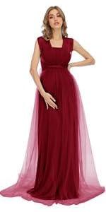 tulle, sleeveless,tube,maternity dresses, photo shoot