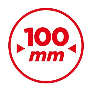 100mm Last white