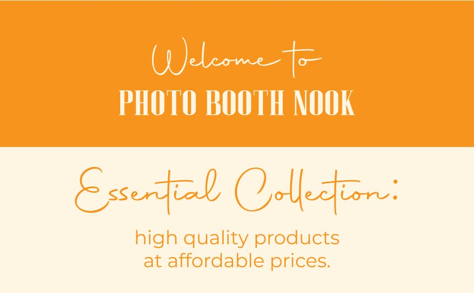 banner image - Photo Booth Nook