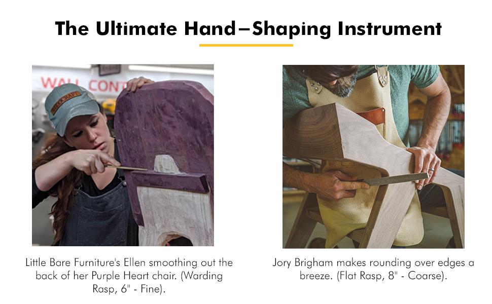 kutzall hand rasps ultimate hand-shaping instrument