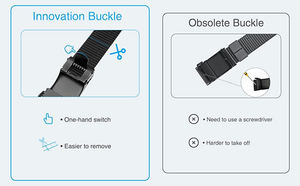 Removable Buckle