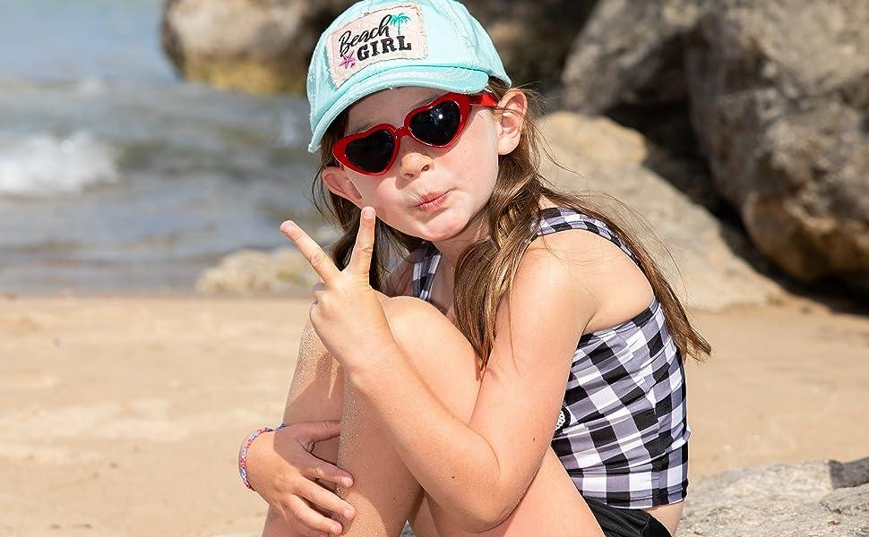 Beach Girl Kids Hat