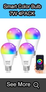 smart color changing light bulb