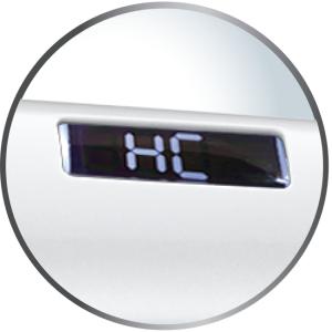 Hydracare Temperature Setting