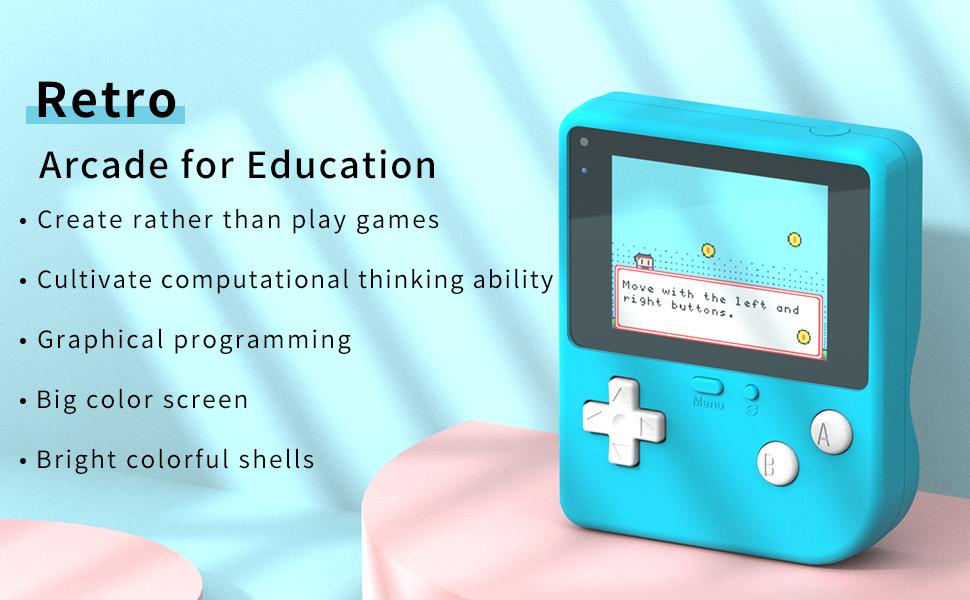 Retro Arcade for education
