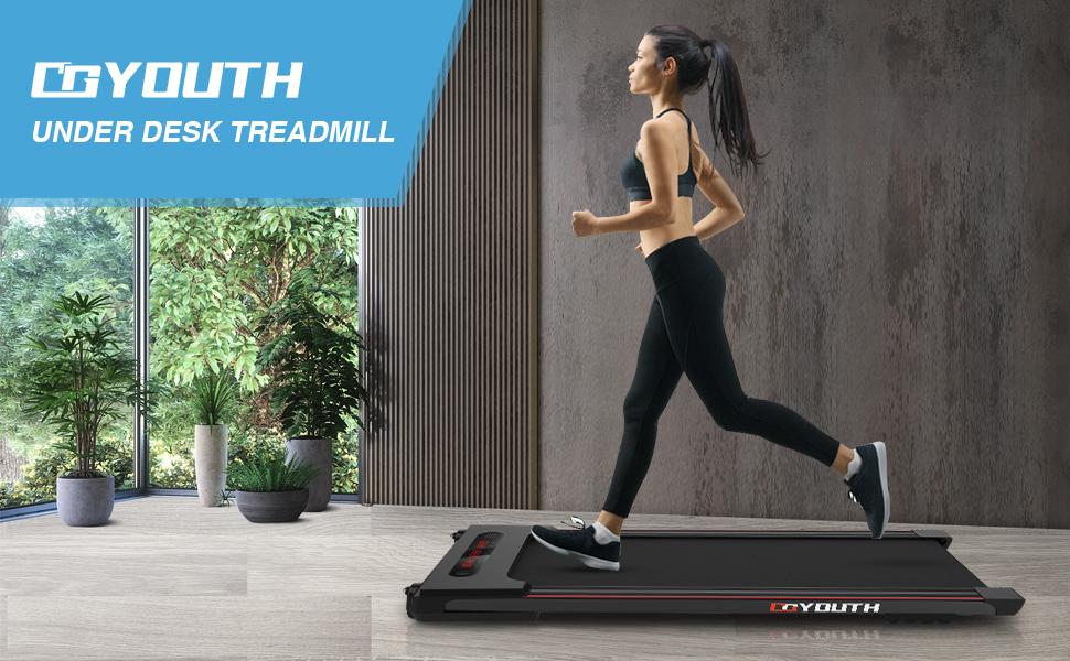 GOYOUTH Under desk treadmill - Black