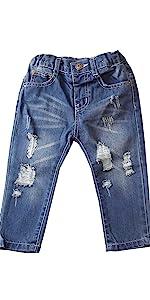 Boys Broken Jeans