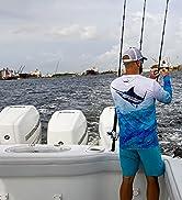 Men sun protection, fishing shirts