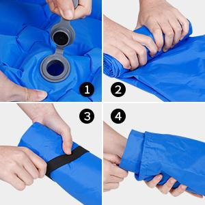 Inflatable bag for Traveling