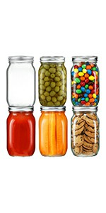 32 oz mason jars