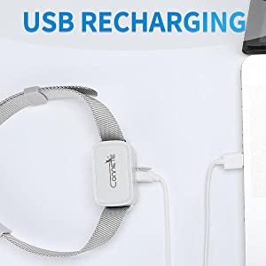 USB RECHARGING