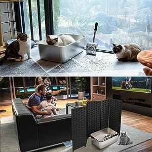 cat privacy screen