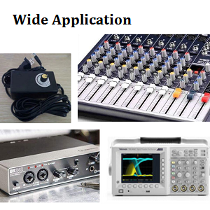 Widely used for volume control in audio applications, guitar, amplifier, audio, lamp.